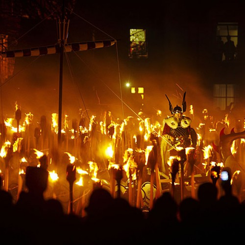Up Helly Aa  Fire Festival - Lerwick, Shetland