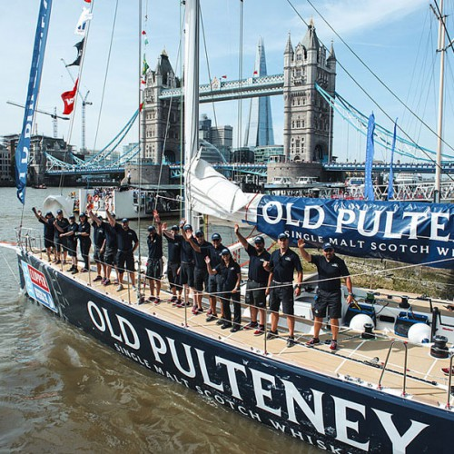 Old Pulteney - Clipper Round The World Yacht Race.