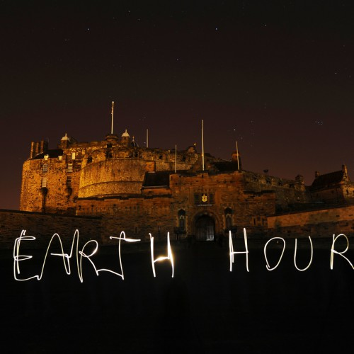 Buildings in Edinburgh switch off for WWF Earth Hour.