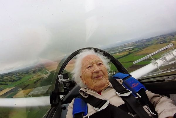 101 Year Old Gliding