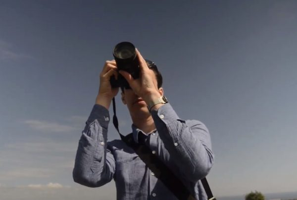 Blind Photographer Taking Photos