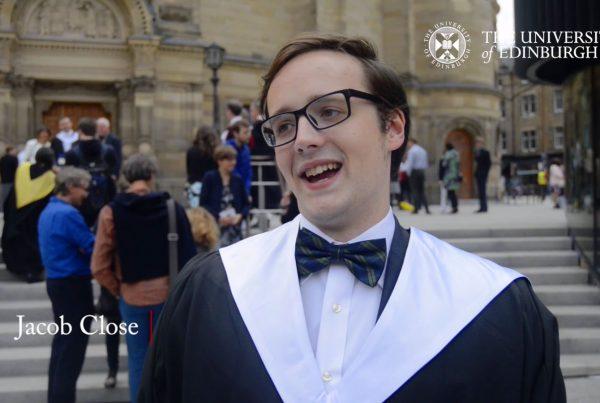 University of Edinburgh Student Graduate